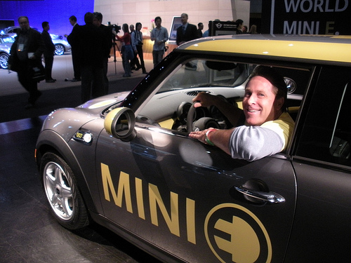 Mini E BMW electric vehicle