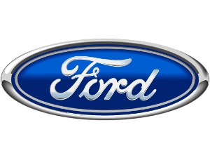 Artist's rendition of the Ford corporate logo.