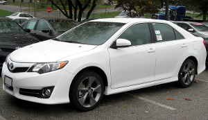 A 2012 Toyota Camry.