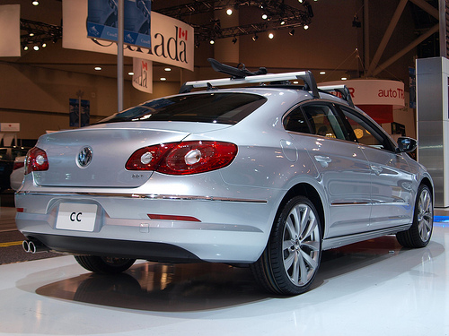 The 2012 Volkswagen Passat.