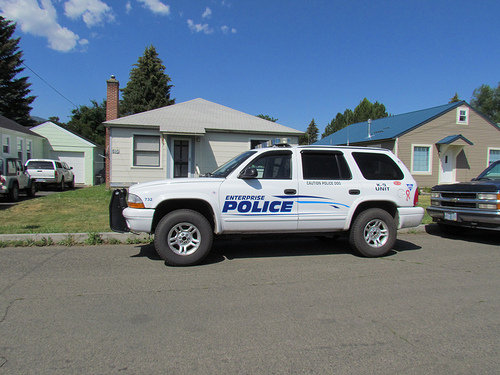 Dodge Durango police vehicle