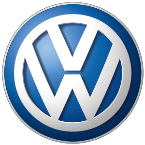 Artist's rendition of the Volkswagen corporate logo.