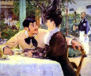 The 1879 Édouard Manet painting Père Lathuille