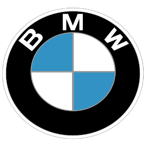 Artist's rendition of the BMW logo.