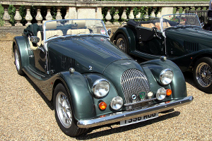 A Morgan 4/4 at the Eastern Counties area for the Morgan Sports Car Club.