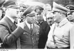 Hitler, Ley, Porsche and Goering