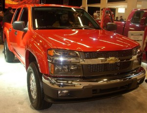 The Chevrolet Colorado will lead the charge of diesel light trucks, which could be more numerous in the future. Image form Wikimedia commons.