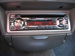 Believe it or not, the most popular form of car audio is still the radio. Image from Wikimedia Commons.